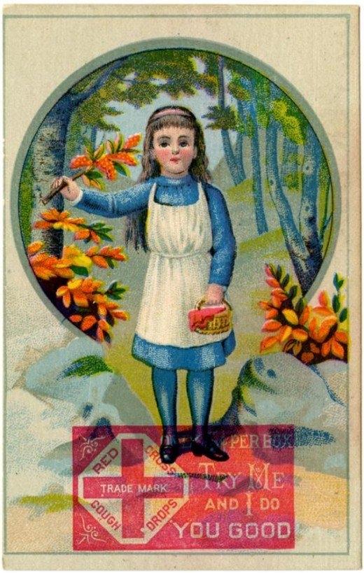 Рекламные открытки на рубеже веков . (Фото 48)