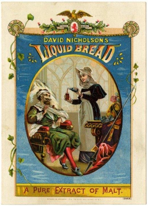 Рекламные открытки на рубеже веков . (Фото 37)