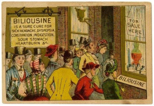 Рекламные открытки на рубеже веков . (Фото 30)