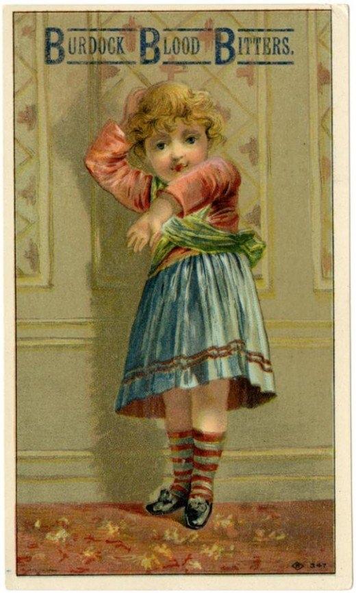 Рекламные открытки на рубеже веков . (Фото 34)