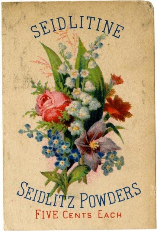 Рекламные открытки на рубеже веков . (Фото 21)