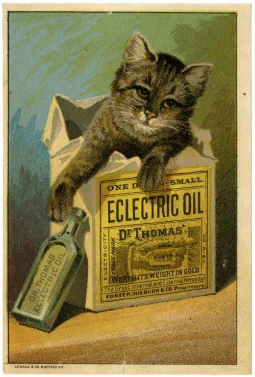 Рекламные открытки на рубеже веков . (Фото 6)