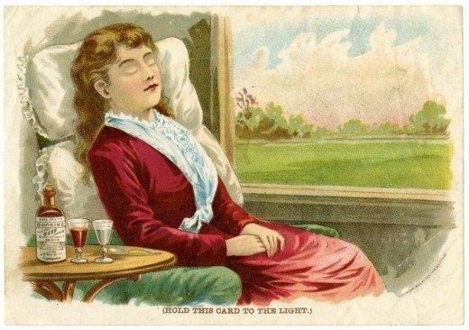 Рекламные открытки на рубеже веков . (Фото 18)