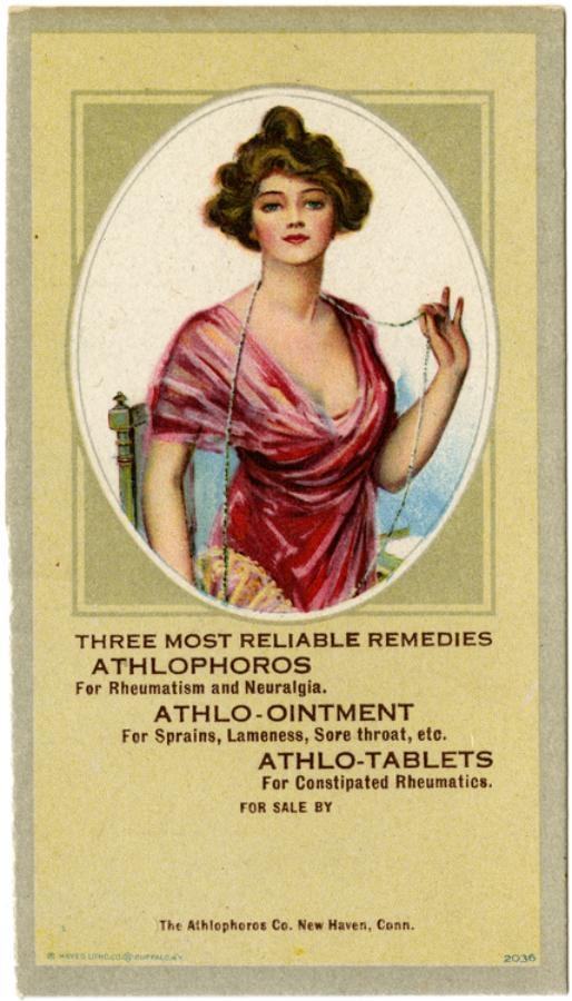 Рекламные открытки на рубеже веков . (Фото 25)
