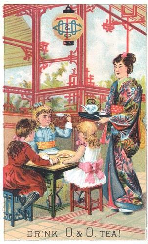 Рекламные открытки на рубеже веков . (Фото 57)