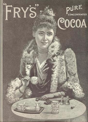Рекламные открытки на рубеже веков . (Фото 55)