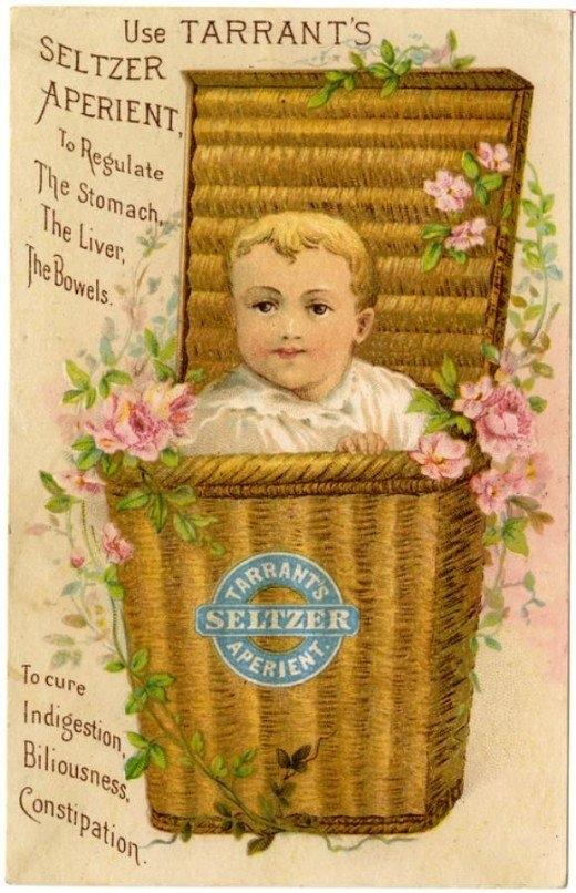 Рекламные открытки на рубеже веков . (Фото 29)