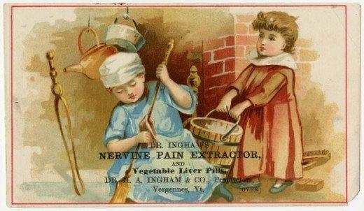 Рекламные открытки на рубеже веков . (Фото 39)