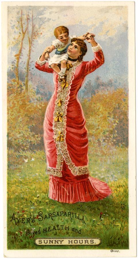 Рекламные открытки на рубеже веков . (Фото 28)