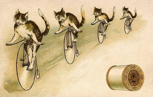 Рекламные открытки на рубеже веков . (Фото 64)