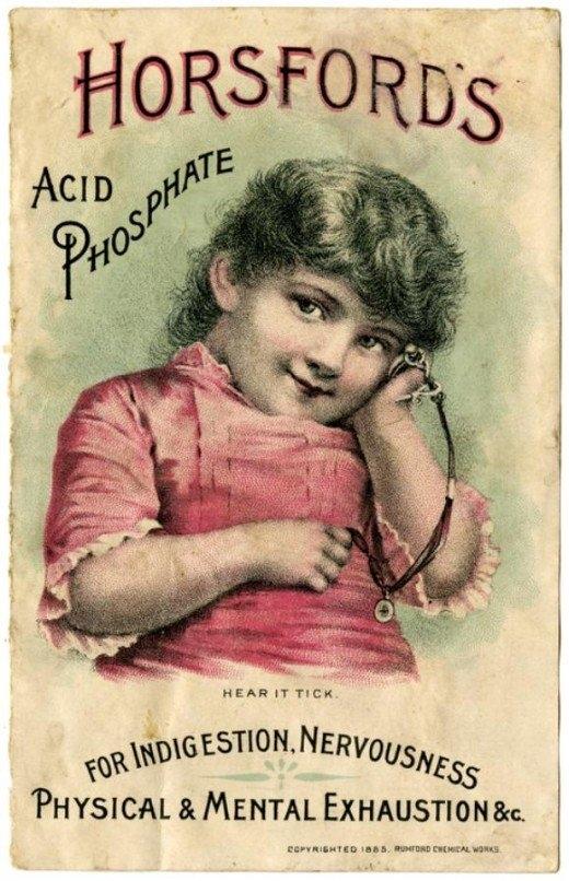 Рекламные открытки на рубеже веков . (Фото 9)