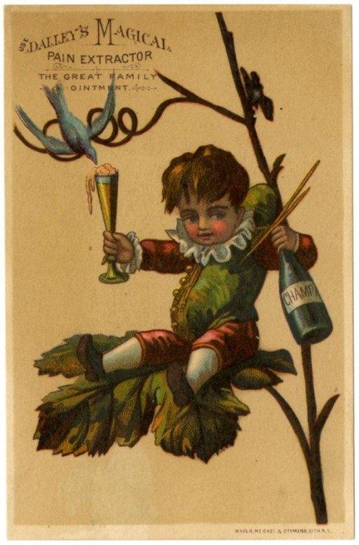 Рекламные открытки на рубеже веков . (Фото 36)