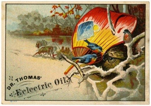 Рекламные открытки на рубеже веков . (Фото 4)