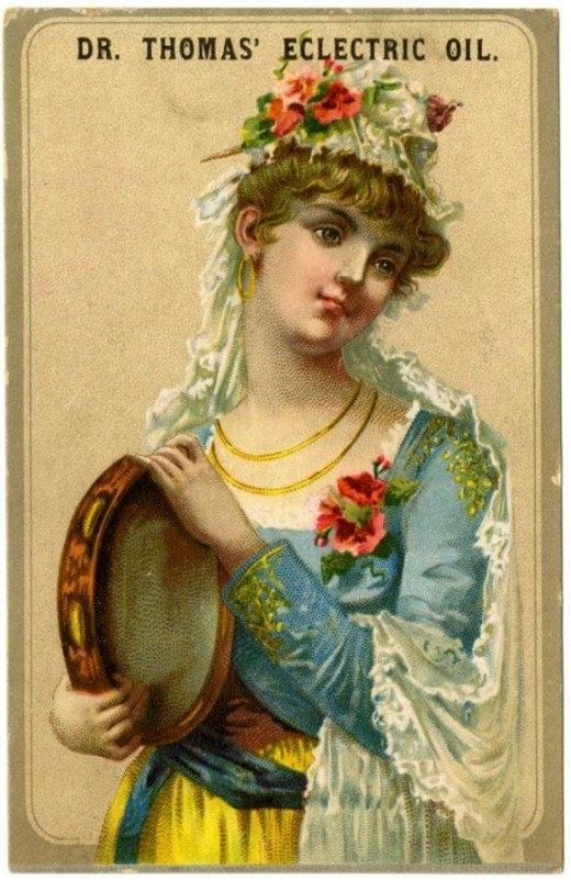 Рекламные открытки на рубеже веков . (Фото 5)