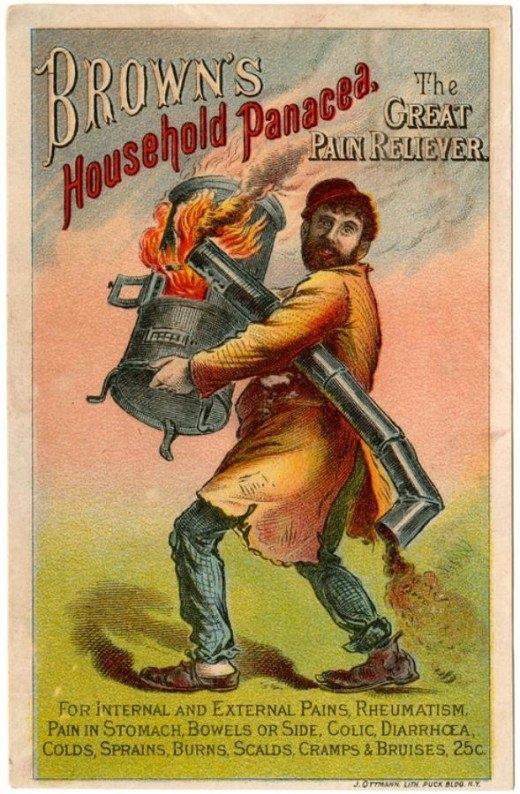 Рекламные открытки на рубеже веков . (Фото 32)