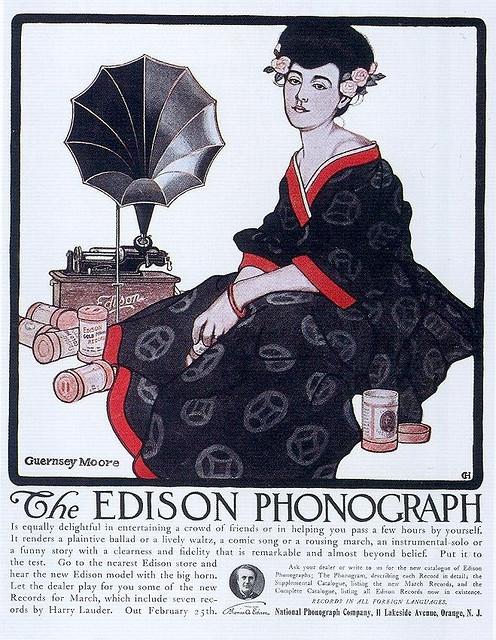 Рекламные открытки на рубеже веков . (Фото 70)