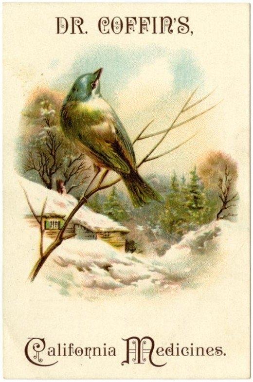 Рекламные открытки на рубеже веков . (Фото 38)
