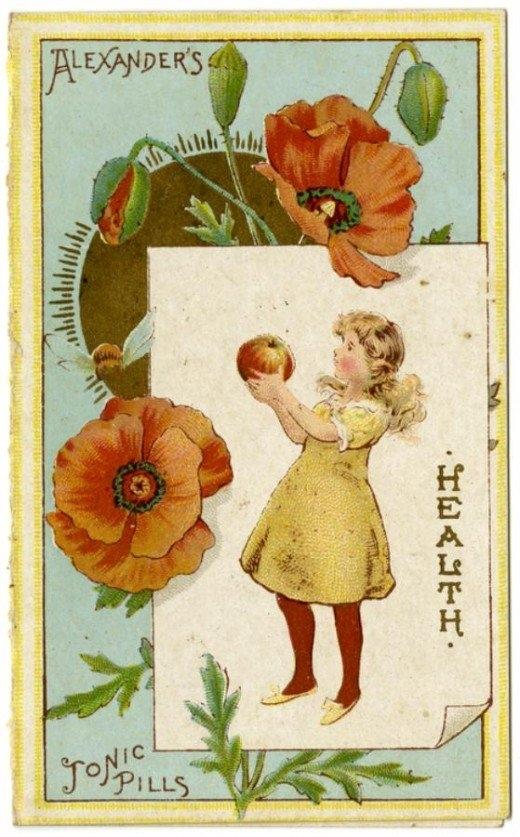 Рекламные открытки на рубеже веков . (Фото 13)