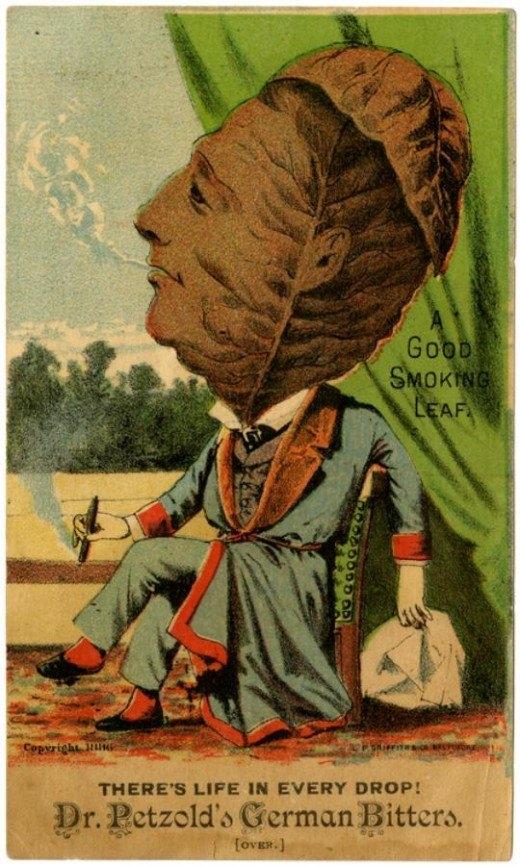 Рекламные открытки на рубеже веков . (Фото 41)