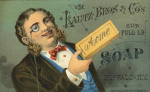 Рекламные открытки на рубеже веков . (Фото 54)
