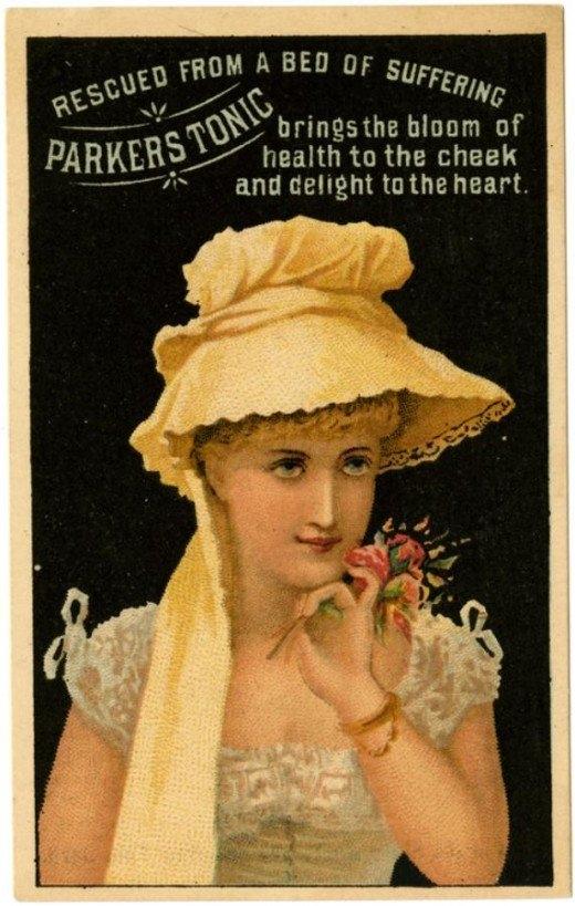 Рекламные открытки на рубеже веков . (Фото 19)