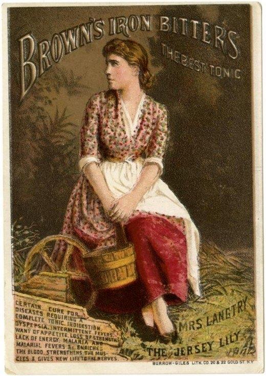 Рекламные открытки на рубеже веков . (Фото 33)