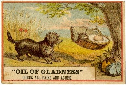 Рекламные открытки на рубеже веков . (Фото 31)