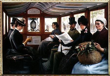 Викторианская маршрутка ... кэб :) (Фото 8)