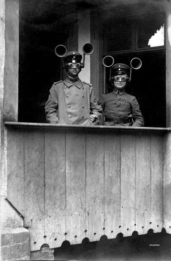 Уши войны ... или что было до радара. (Фото 2)
