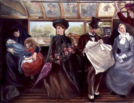 Викторианская маршрутка ... кэб :) (Фото 9)