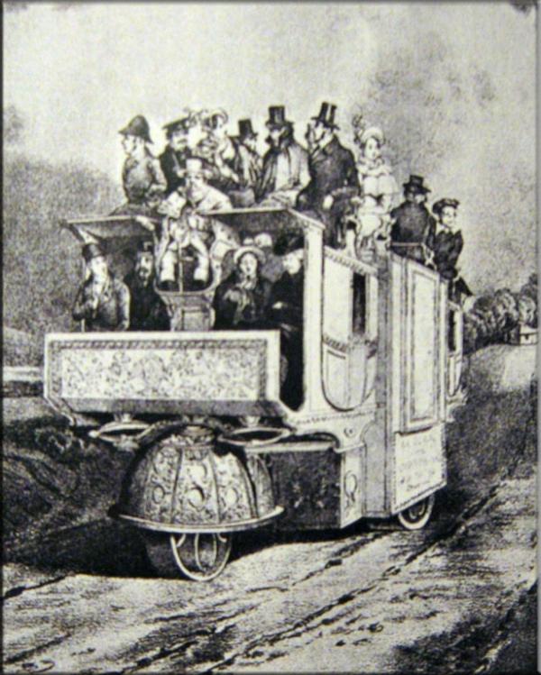 Викторианская маршрутка ... кэб :) (Фото 13)