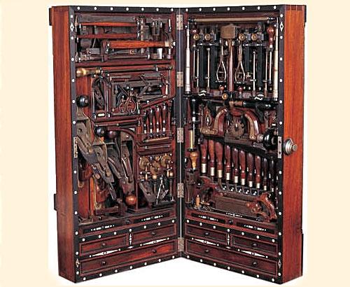 Плотник и его инструменты.