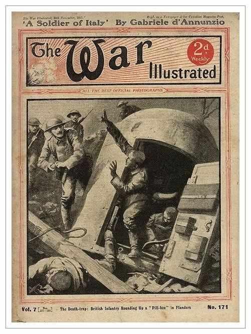 Сухопутные монстры. Война на страницах газет. (Фото 8)