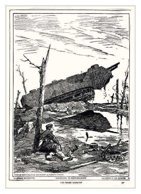 Сухопутные монстры. Война на страницах газет. (Фото 15)