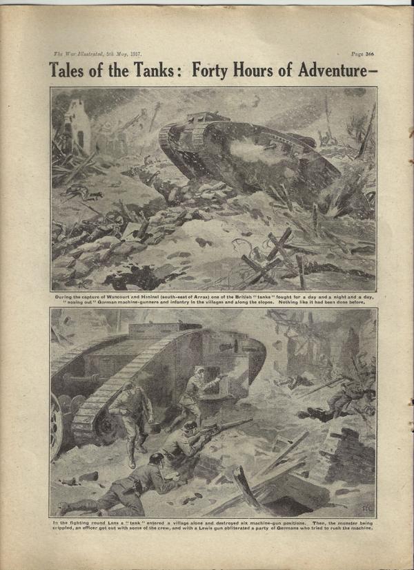 Сухопутные монстры. Война на страницах газет. (Фото 5)