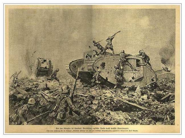 Сухопутные монстры. Война на страницах газет. (Фото 10)