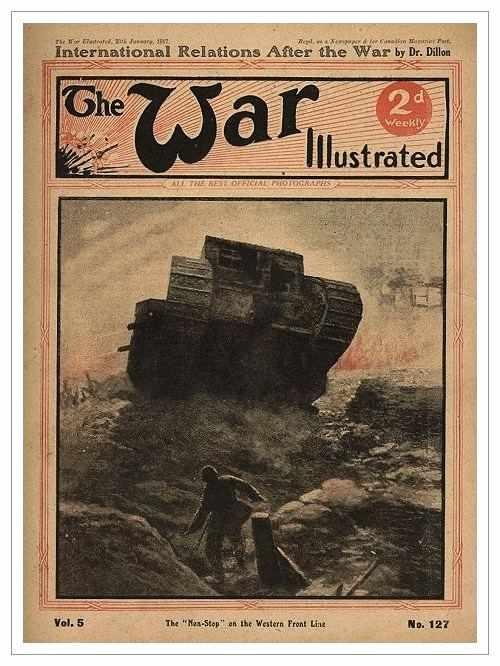 Сухопутные монстры. Война на страницах газет. (Фото 9)