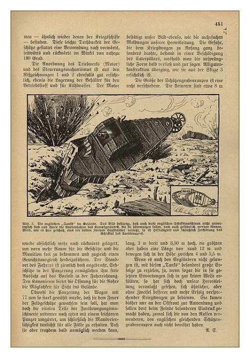 Сухопутные монстры. Война на страницах газет. (Фото 12)