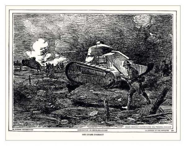 Сухопутные монстры. Война на страницах газет. (Фото 17)