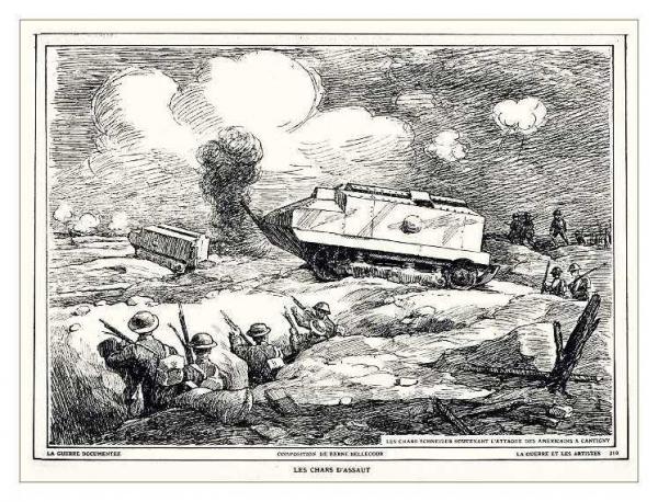Сухопутные монстры. Война на страницах газет. (Фото 13)