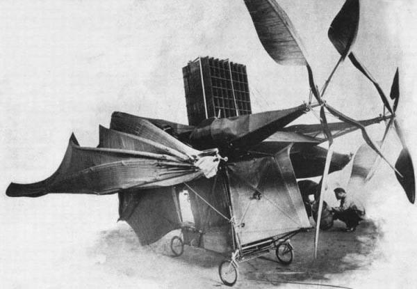 История воздухоплавания. Часть-1. Младенчество. (Фото 30)