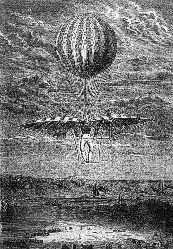 История воздухоплавания. Часть-1. Младенчество. (Фото 2)