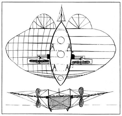 История воздухоплавания. Часть-1. Младенчество. (Фото 23)