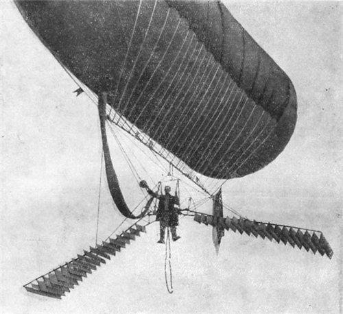 История воздухоплавания. Часть-1. Младенчество. (Фото 4)