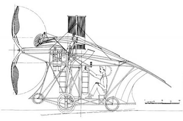 История воздухоплавания. Часть-1. Младенчество. (Фото 27)