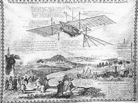 История воздухоплавания. Часть-1. Младенчество. (Фото 15)