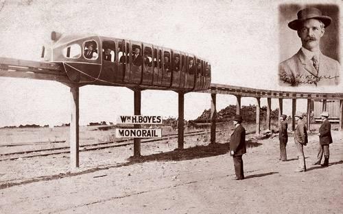 """""""Голубой вагон летит, качается ..."""" (История монорельса.) (Фото 13)"""