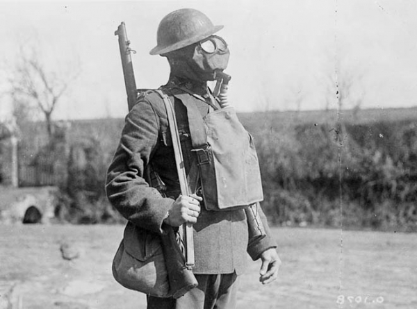 Chlorine gas bombs ww1