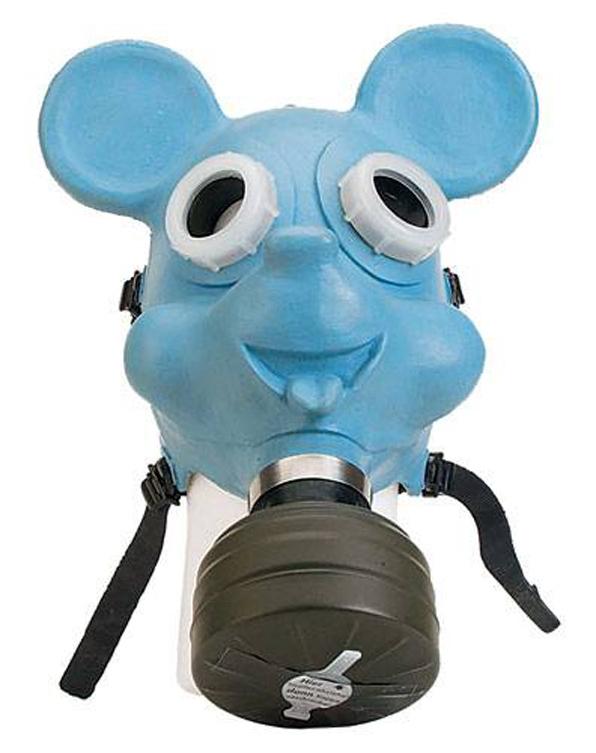"""Внимание , газы ! (часть-2) От """"чумной маски"""" до Микки-Мауса :) (Фото 68)"""