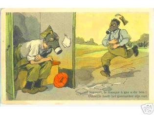 """Внимание , газы ! (часть-2) От """"чумной маски"""" до Микки-Мауса :) (Фото 70)"""